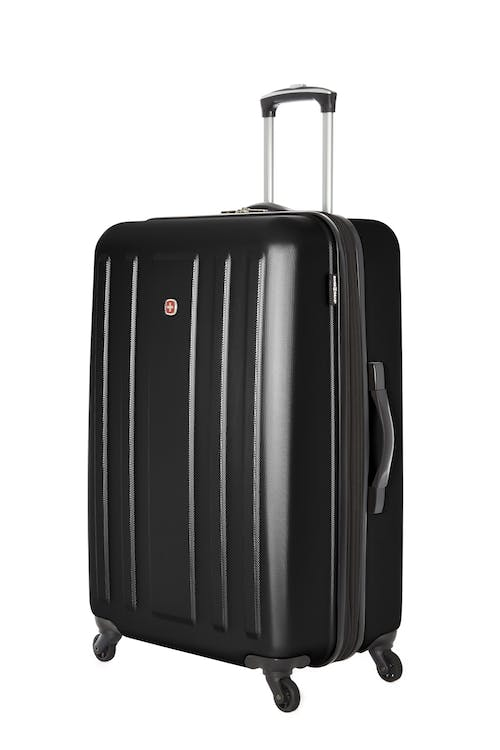 "Swissgear La Sarinne Collection 28"" Expandable Hardside Luggage - Black"