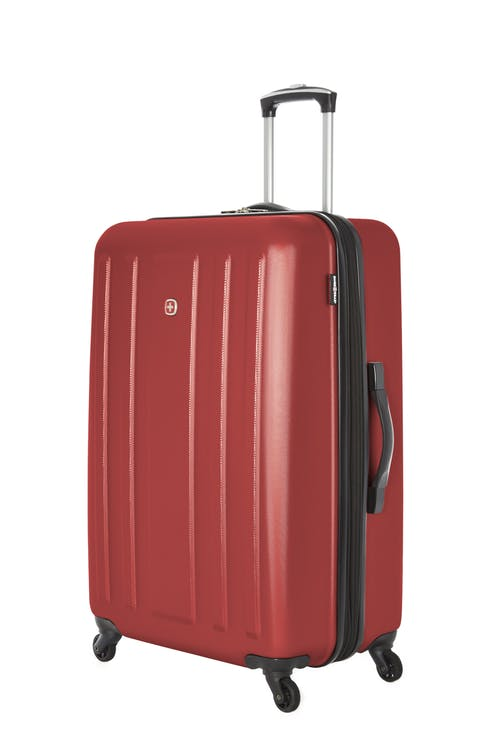 "Swissgear La Sarinne Collection 28"" Expandable Hardside Luggage - Oxblood"