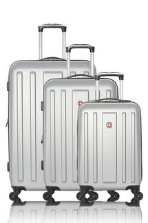 Swissgear La Sarinne Collection Hardside Luggage 3 Piece Set