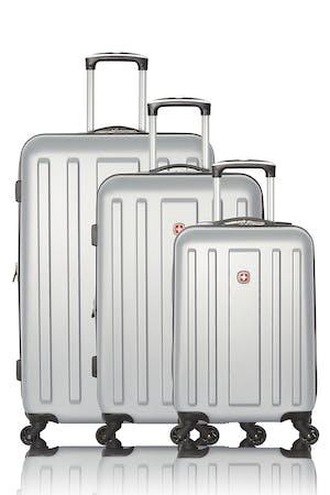 Swissgear Collection de bagages La Sarinne - Ensemble de 3 valises rigides