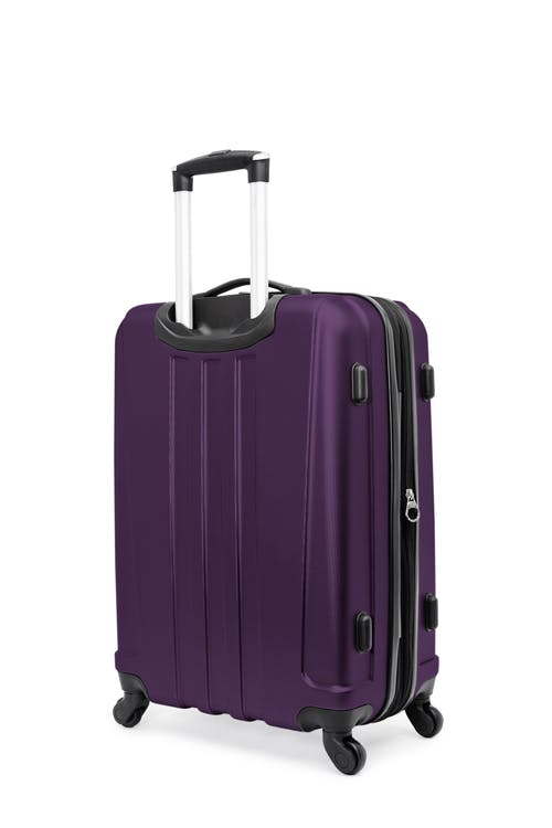 """Swissgear Pinnacle Collection 24"""" Expandable Hardside Luggage  Rugged ABS construction"""