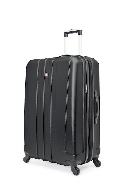 "Swissgear Pinnacle Collection 28"" Expandable Hardside Luggage - Black"