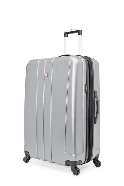 "Swissgear Pinnacle Collection 28"" Expandable Hardside Luggage - Grey"