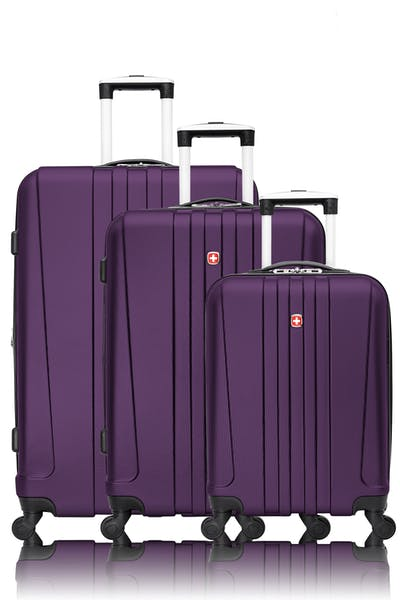 Swissgear Pinnacle Collection Hardside Luggage 3 Piece Set
