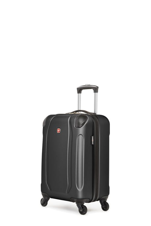 Swissgear Central Lite Collection - Carry-On Hardside Luggage - Black