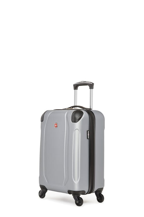 Swissgear Central Lite Collection - Carry-On Hardside Luggage - Silver