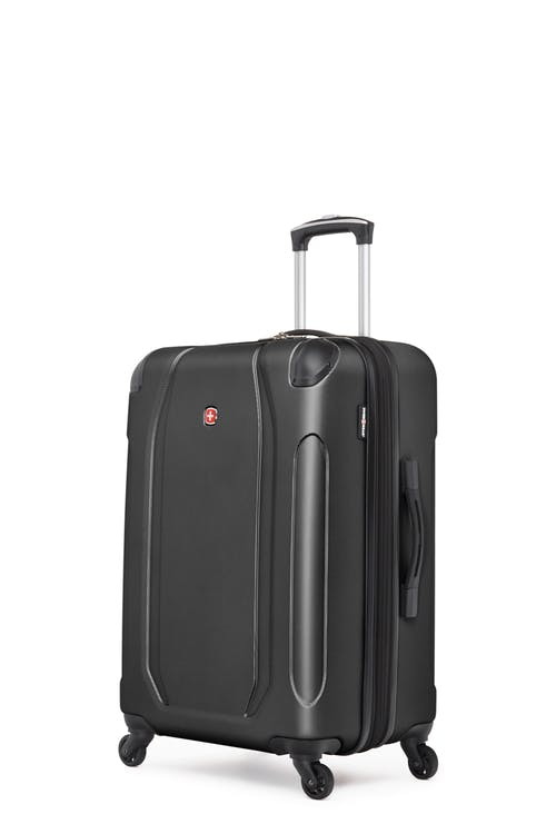 "Swissgear Central Lite Collection 24"" Expandable Hardside Luggage - Black"