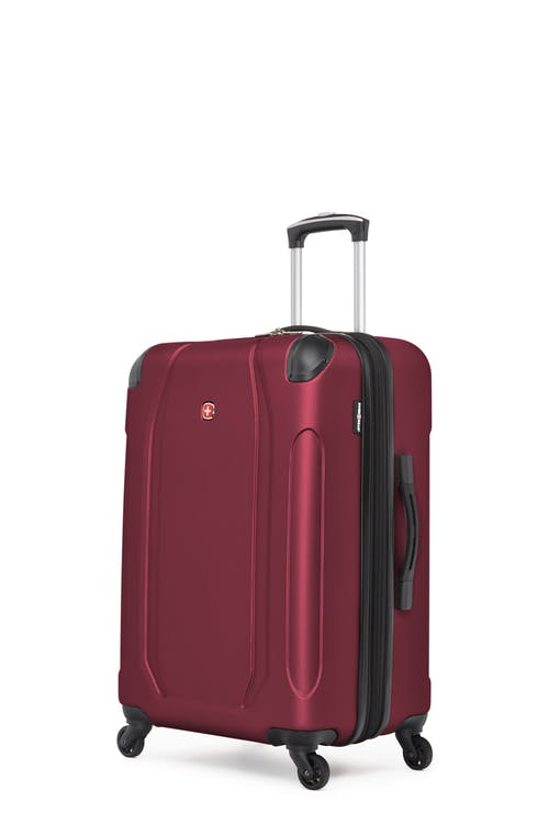 "Swissgear Central Lite Collection 24"" Expandable Hardside Luggage - Oxblood"