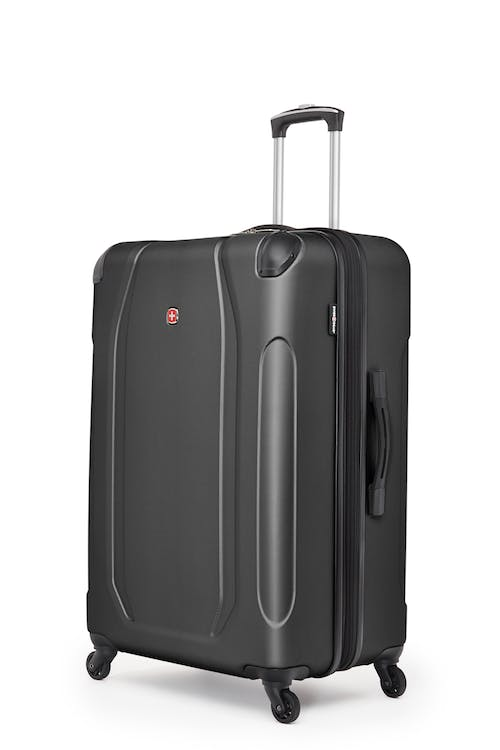 "Swissgear Central Lite Collection 28"" Expandable Hardside Luggage - Black"