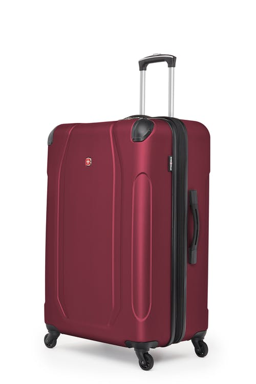 "Swissgear Central Lite Collection 28"" Expandable Hardside Luggage - Oxblood"