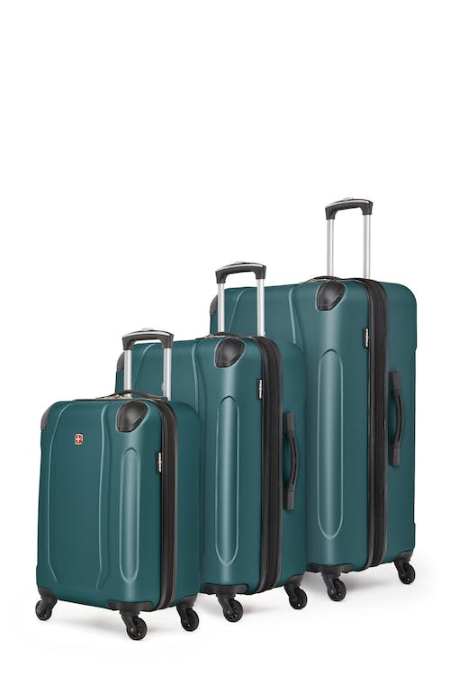 Swissgear Central Lite Collection Hardside Luggage 3 Piece Set