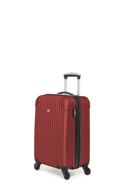 Swissgear Linigno Collection - Carry-On Hardside Luggage - Burgundy