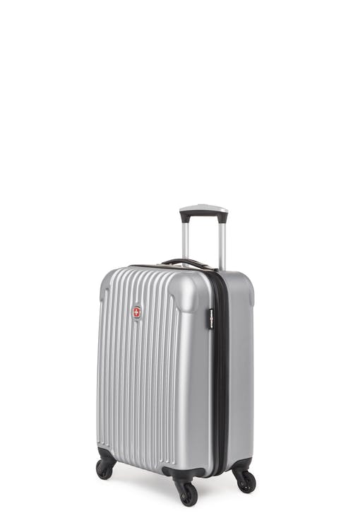Swissgear Linigno Collection - Carry-On Hardside Luggage - Silver