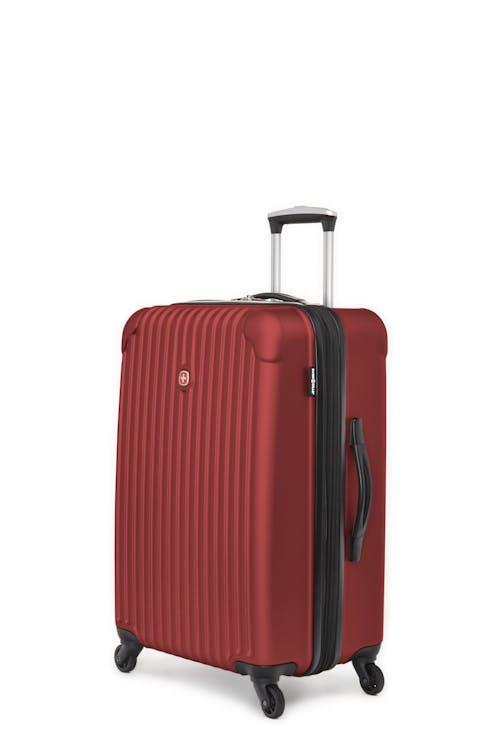 "Swissgear Linigno Collection 24"" Expandable Hardside Luggage - Burgundy"