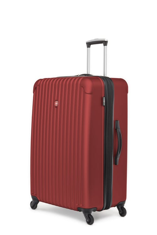 "Swissgear Linigno Collection 28"" Expandable Hardside Luggage - Burgundy"