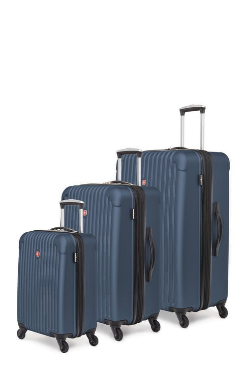Swissgear Linigno Collection Hardside Luggage 3 Piece Set