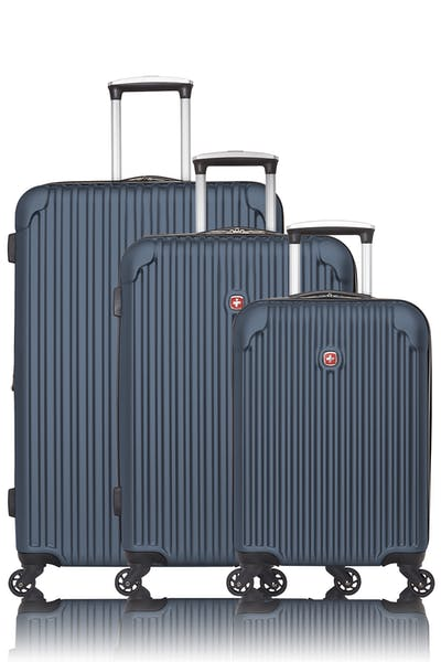 Swissgear Collection de bagages Linigno - Ensemble de 3 valises rigides