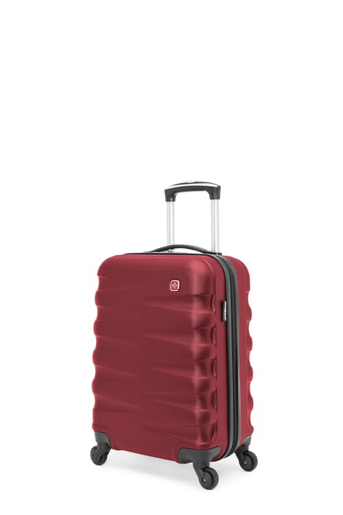 Swissgear Waddington Collection - Carry-On Hardside Luggage - Red