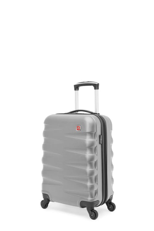 Swissgear Waddington Collection - Carry-On Hardside Luggage - Silver