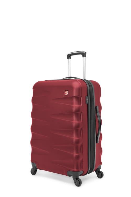 "Swissgear Waddington Collection 24"" Expandable Hardside Luggage - Red"