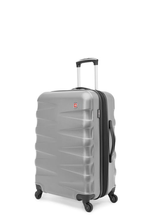 "Swissgear Waddington Collection 24"" Expandable Hardside Luggage - Silver"