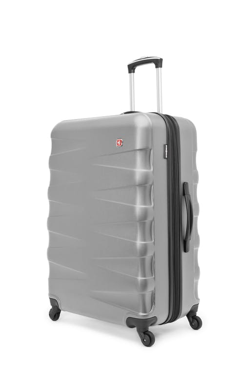"Swissgear Waddington Collection 28"" Expandable Hardside Luggage - Silver"
