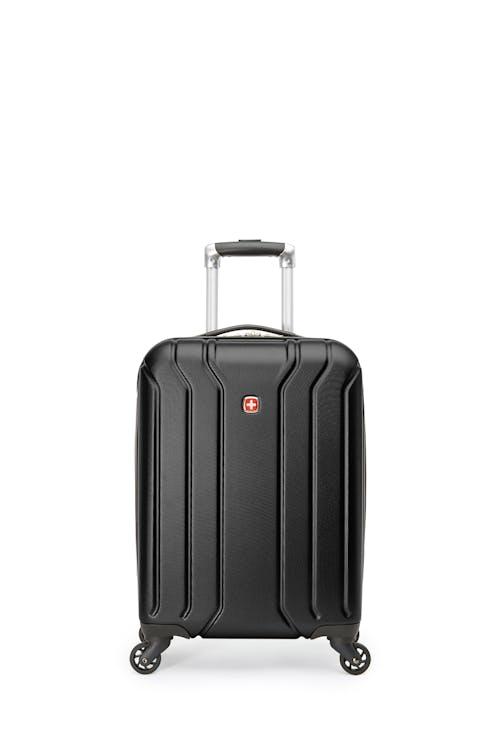 Swissgear 27282 - Ensemble de voyage - Valise de cabine rigide avec porte-gobelet intégré de la collection Upload + Sac à dos ScanSmart pour portable