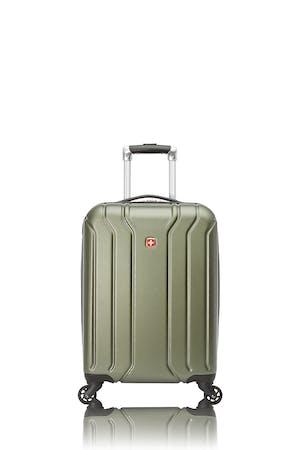 Swissgear Collection de bagages Upload - Valise de cabine rigide avec porte-gobelet intégré