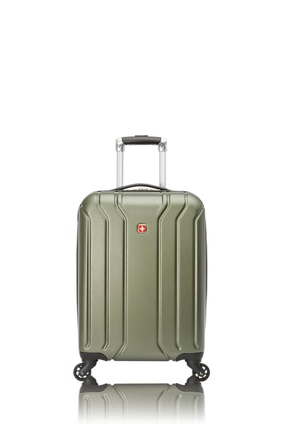 Swissgear Upload Collection Carry-On Hardside Luggage with Cup Holder