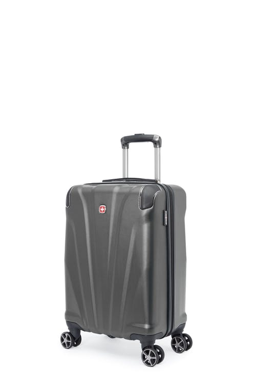 Swissgear Global Traveller Collection - Carry-On Hardside Luggage - Charcoal
