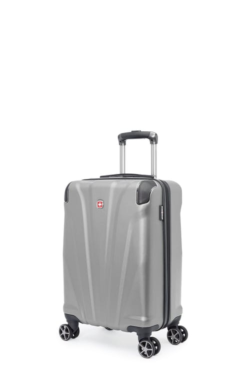 Swissgear Global Traveller Collection - Carry-On Hardside Luggage - Silver