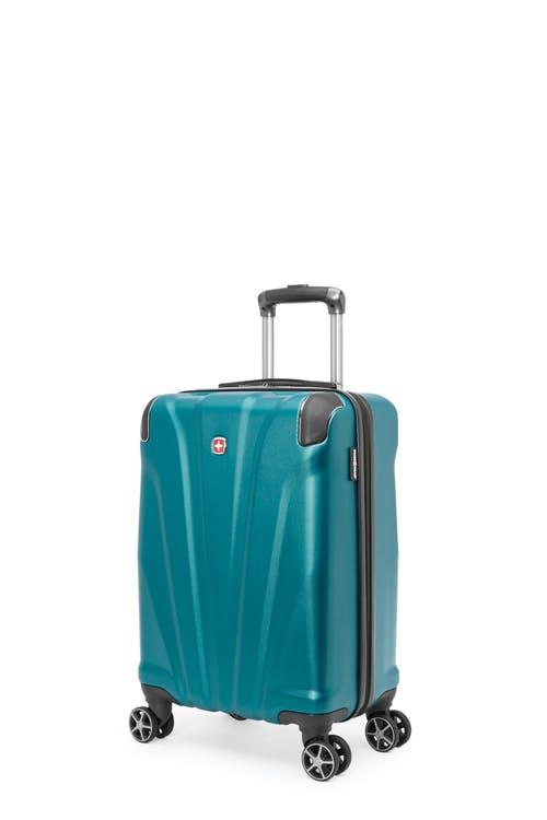 Swissgear Global Traveller Collection - Carry-On Hardside Luggage - Teal