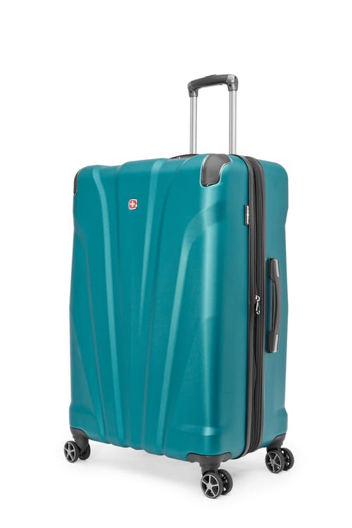 """Swissgear Global Traveller Collection 28"""" Expandable Hardside Luggage - Teal"""