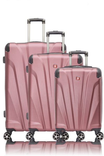 Swissgear Global Traveller Collection Expandable Hardside Luggage 3 Piece Set
