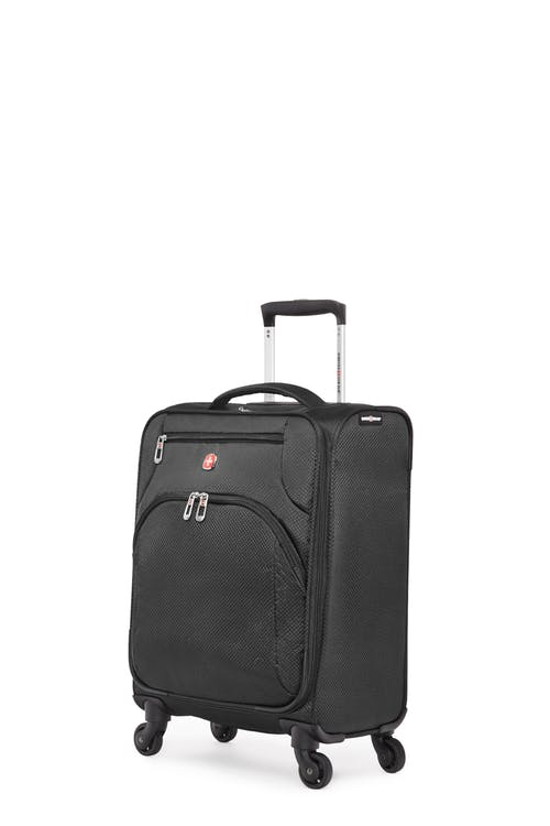 Swissgear Super Lite II Collection Carry-on Upright Luggage - Black