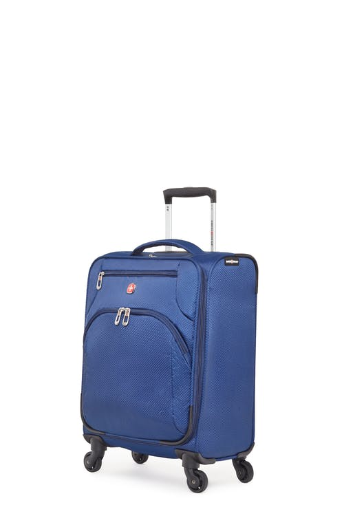 Swissgear Super Lite II Collection Carry-on Upright Luggage - Navy