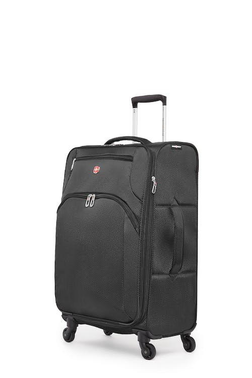 "Swissgear Super Lite II Collection 24"" Expandable Upright Luggage - Black"