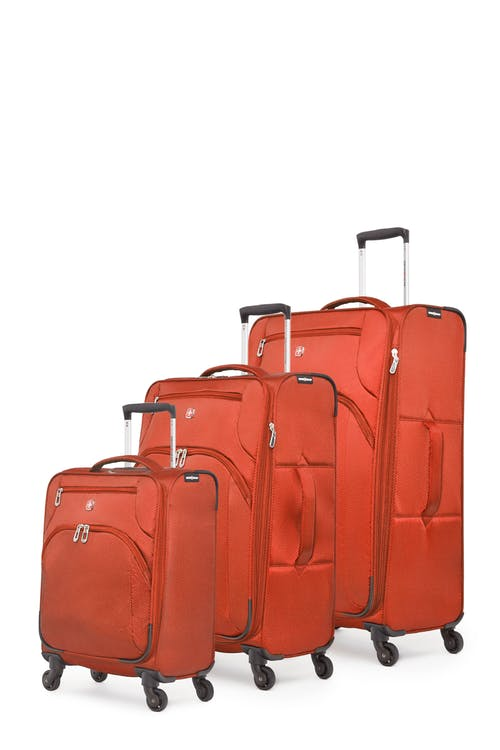Swissgear Super Lite II Collection Upright Luggage 3 Piece Set