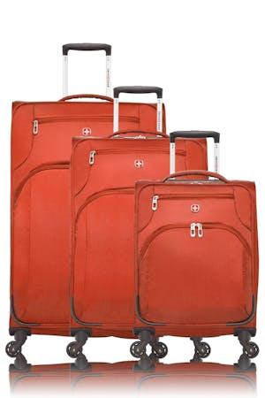 Swissgear Super Lite II Collection Upright Luggage 3 Piece Set