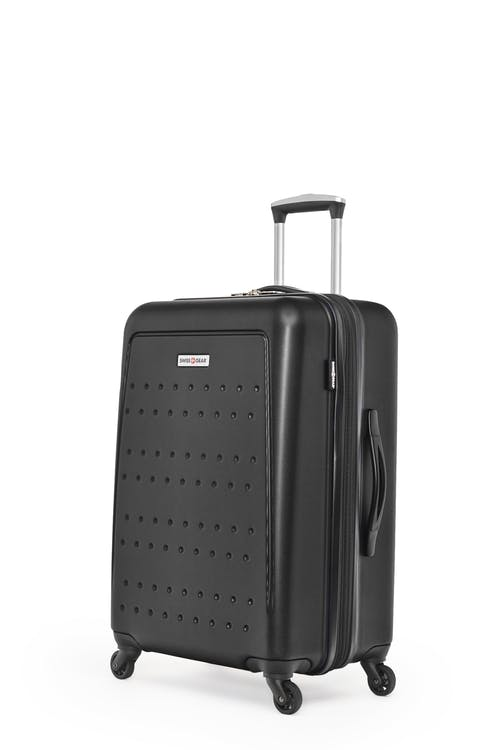 "Swissgear 3D Lite Collection 24"" Expandable Hardside Luggage - Black"