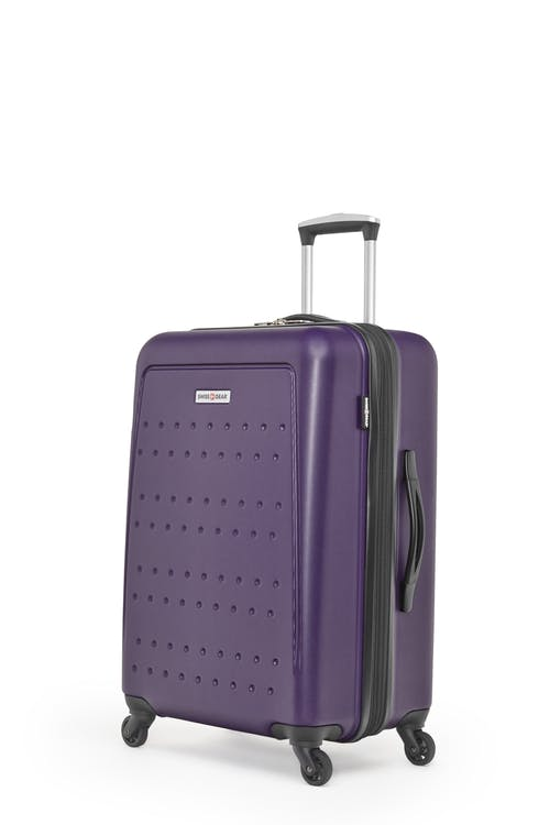 "Swissgear 3D Lite Collection 24"" Expandable Hardside Luggage - Purple"
