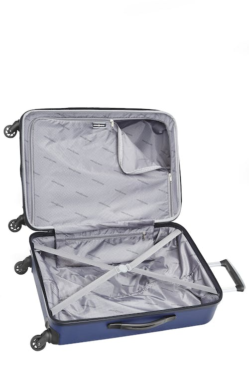 Swissgear 3D Lite Collection Hardside Luggage 3 Piece Set  Interlocking tie-down straps