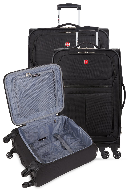 SWISSGEAR 4010 3pc Spinner Luggage Set - Black