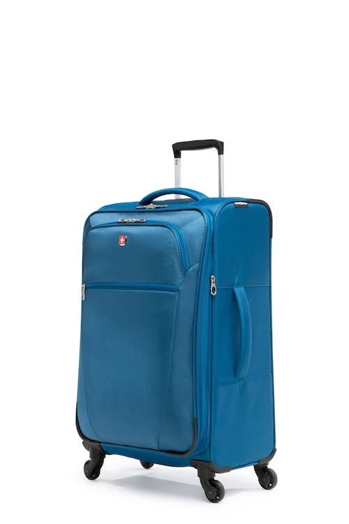 """Swissgear Vintage Collection 24"""" Expandable Upright Luggage - Blue"""