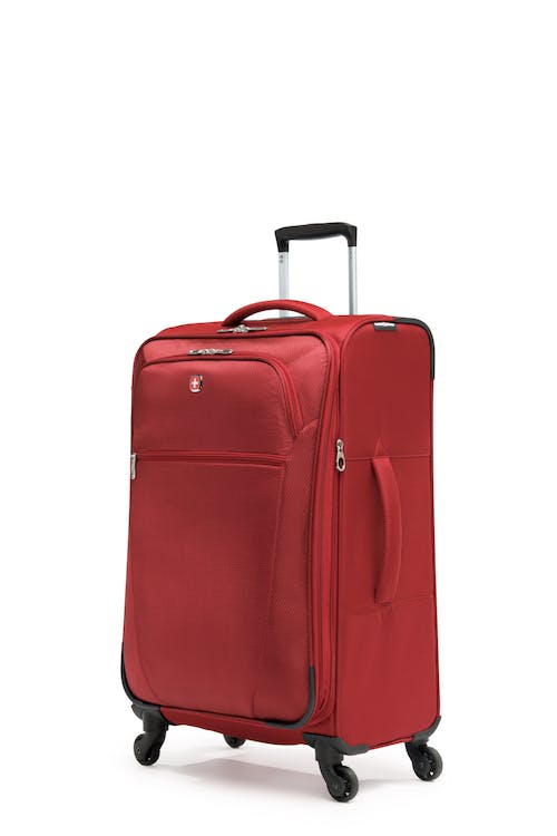 """Swissgear Vintage Collection 24"""" Expandable Upright Luggage - Red"""
