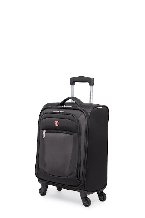 Swissgear Payerne Collection - Carry-On Upright Luggage - Black