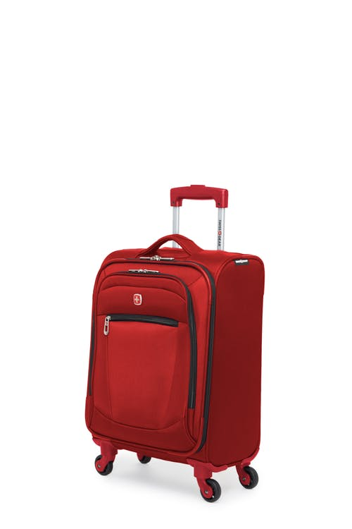 Swissgear Payerne Collection - Carry-On Upright Luggage - Red