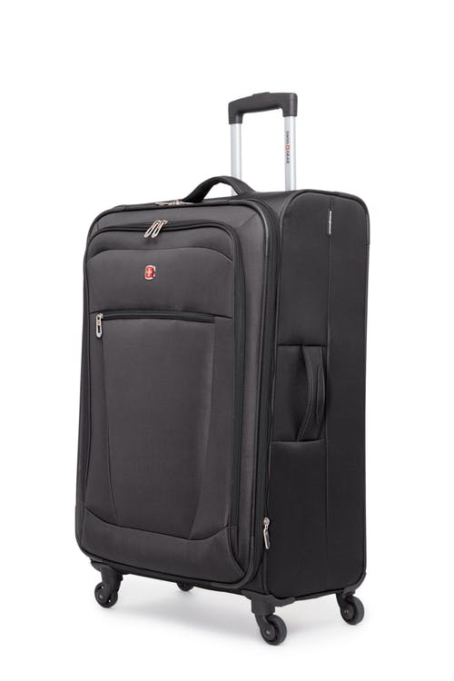 "Swissgear Payerne Collection 28"" Expandable Upright Luggage - Black"