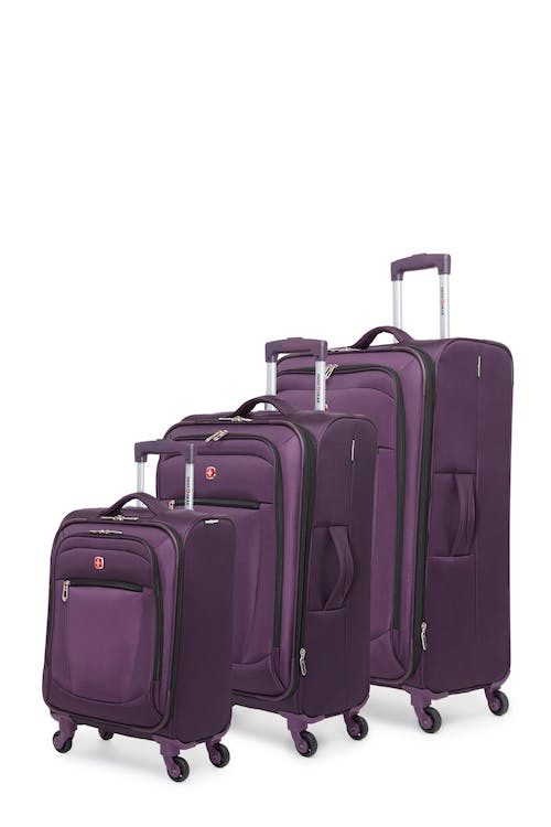 Swissgear Payerne Collection Upright Luggage 3 Piece Set