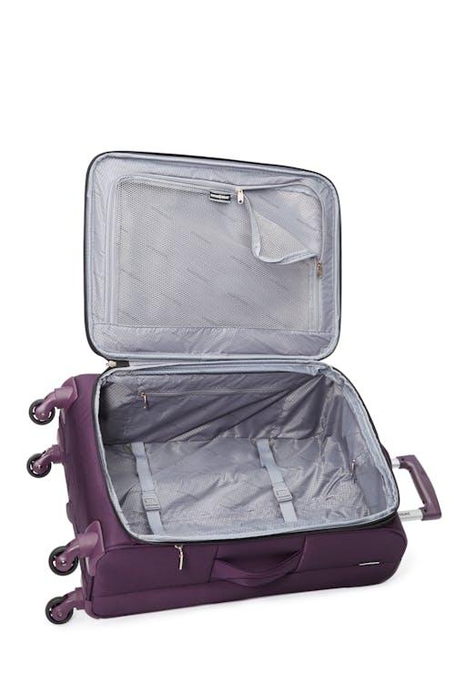 Swissgear Payerne Collection Upright Luggage 3 Piece Set  Interlocking tie-down straps